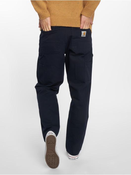 Carhartt WIP Dżinsy straight fit Single Knee niebieski