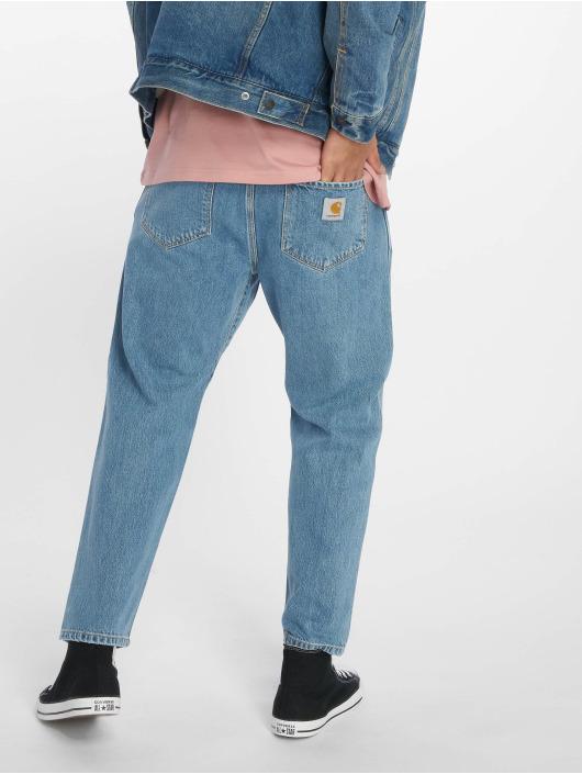 Carhartt WIP Dżinsy straight fit Toledo niebieski
