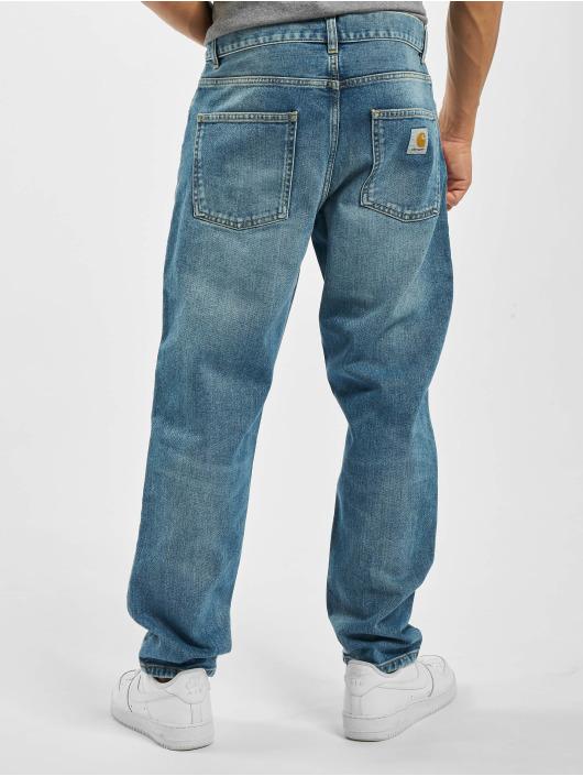 Carhartt WIP Dżinsy straight fit Carhartt WIP Klondike Pants Black niebieski