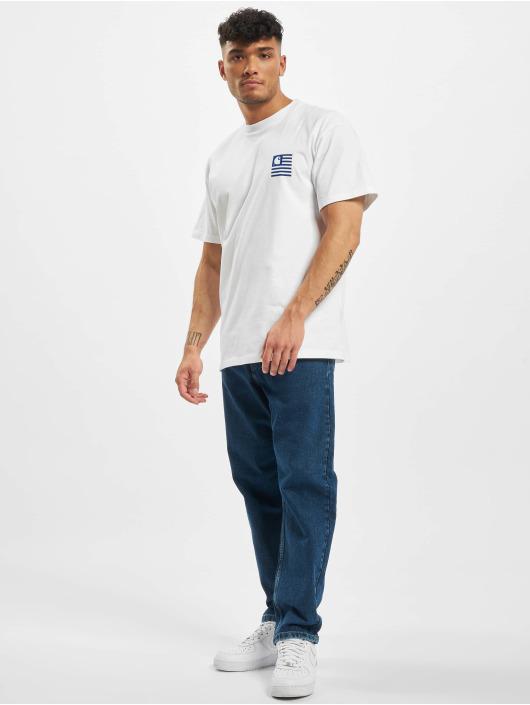 Carhartt WIP Dżinsy straight fit Newel niebieski