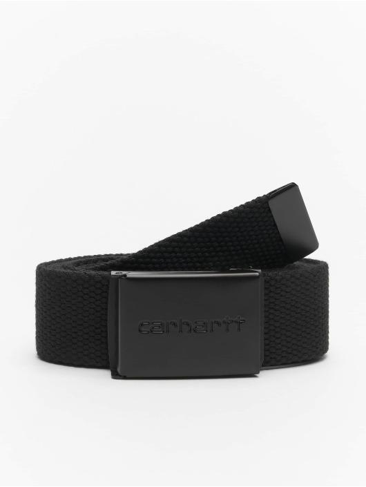 Carhartt WIP Gürtel Clip schwarz