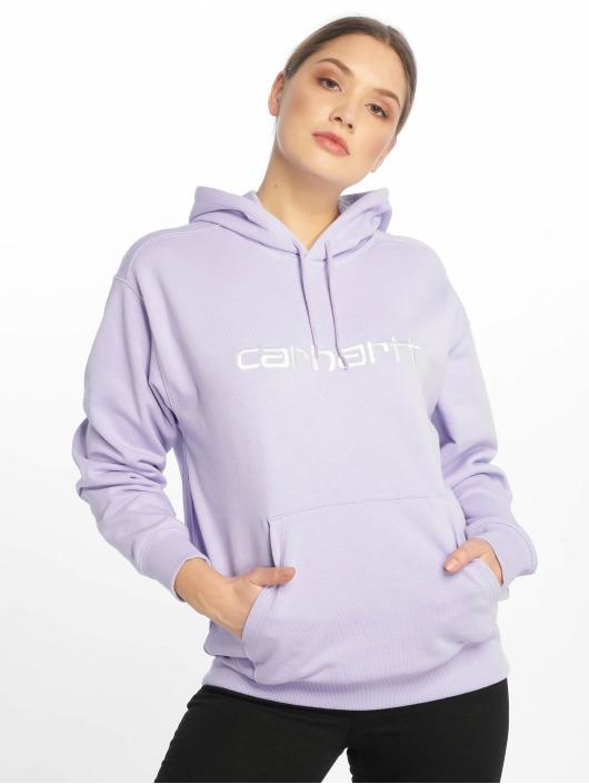 Carhartt WIP Hoodie Classico purple