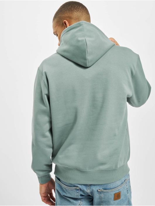 Carhartt WIP Hoodies Label modrý