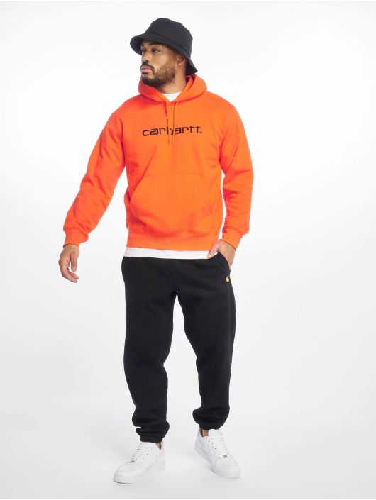 Carhartt WIP Hoody Label orange