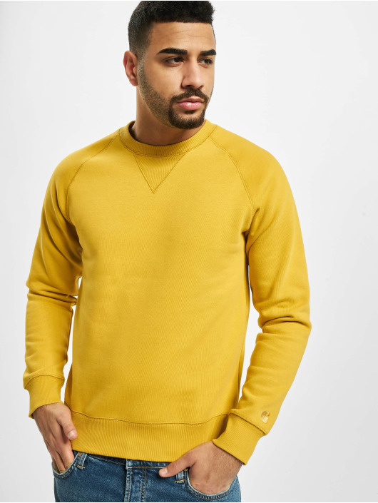 Carhartt WIP Jumper Chase gold colored