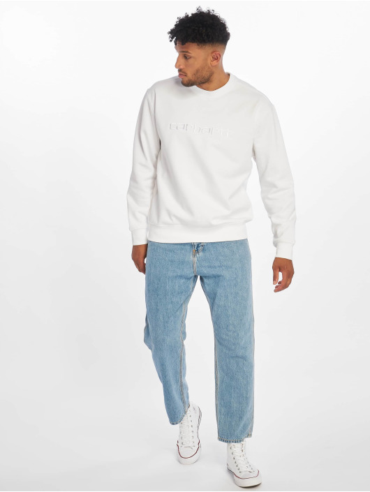 Carhartt WIP Jumper Label white