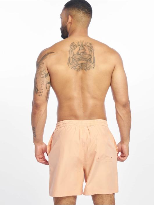 Carhartt WIP Kúpacie šortky Chase oranžová