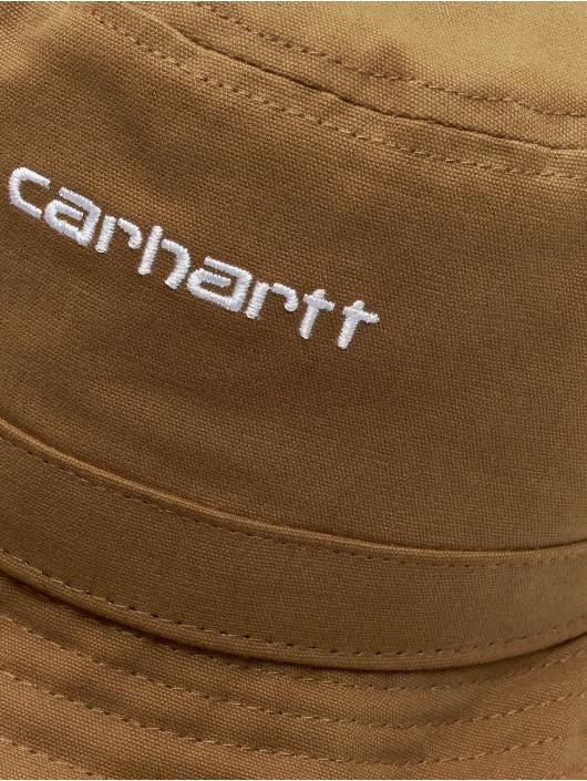 Carhartt WIP Kapelusze Script brazowy