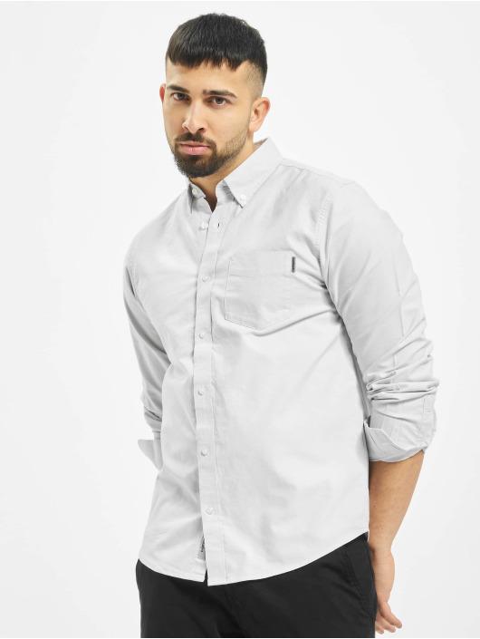 Carhartt WIP Košele Button Down Pocket šedá
