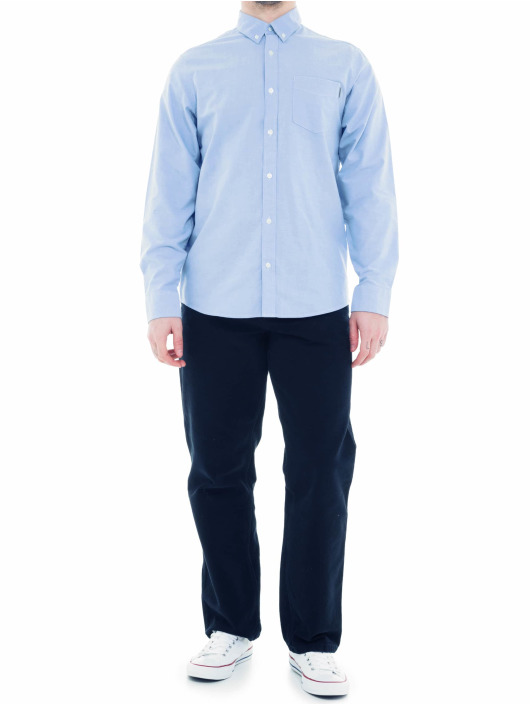 Carhartt WIP Košele Button Down Pocket modrá