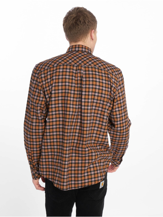 Carhartt WIP Koszule Lanark brazowy