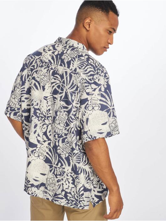 Carhartt WIP Koszule Tiki Mono niebieski