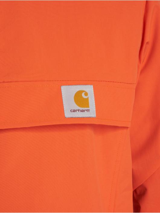 Carhartt WIP Kurtki przejściowe Nimbus pomaranczowy