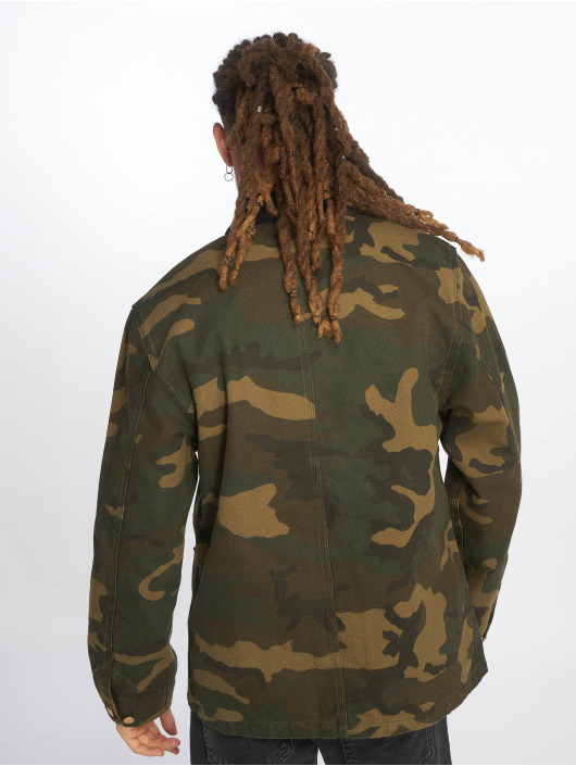 Carhartt WIP Lightweight Jacket Michigan Coat camouflage