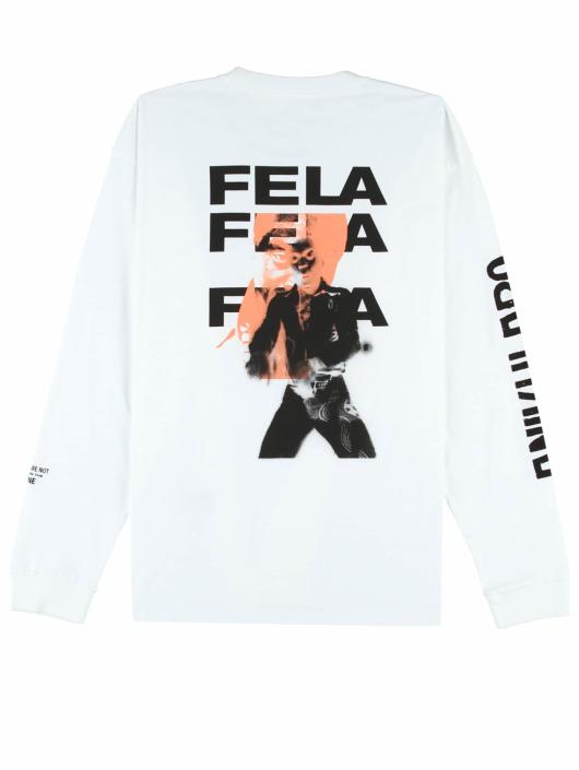 Carhartt WIP Longsleeve Fela Fela Fela weiß