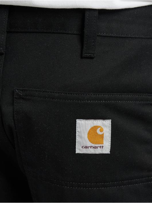 Carhartt WIP Loose Fit Jeans Denison Twill Simple czarny