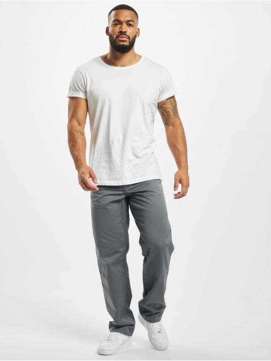 Carhartt WIP Loose Fit Jeans Denison Twill grau