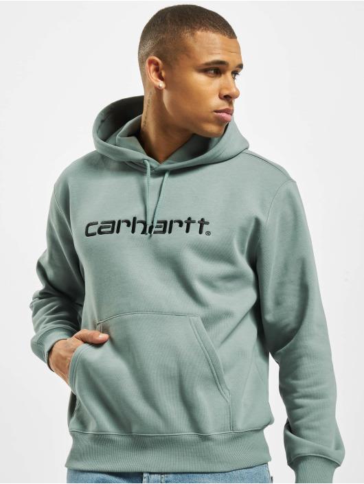 Carhartt WIP Mikiny Label modrá
