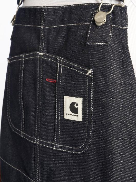 Carhartt WIP Nohavice na traky Jay Bib modrá