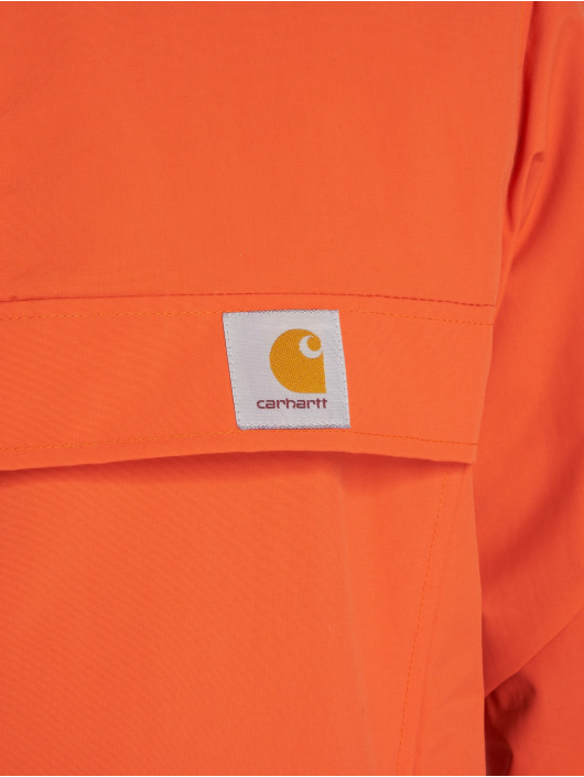Carhartt WIP Prechodné vetrovky Nimbus oranžová