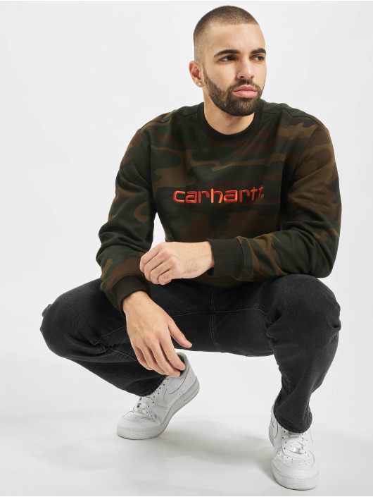 Carhartt WIP Pullover Label camouflage