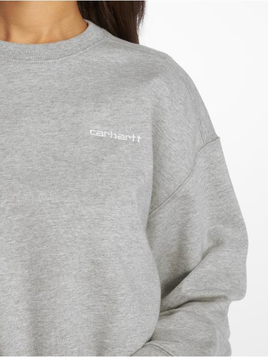 Carhartt WIP Pullover Script grau
