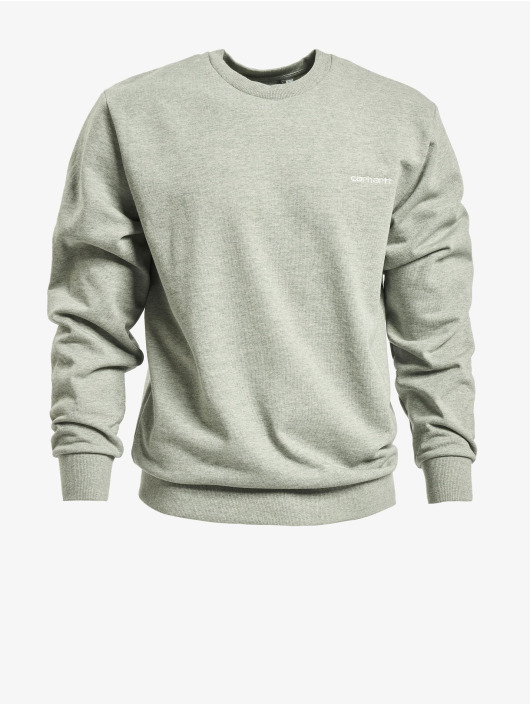 Carhartt WIP Pullover Script Embroidery gray