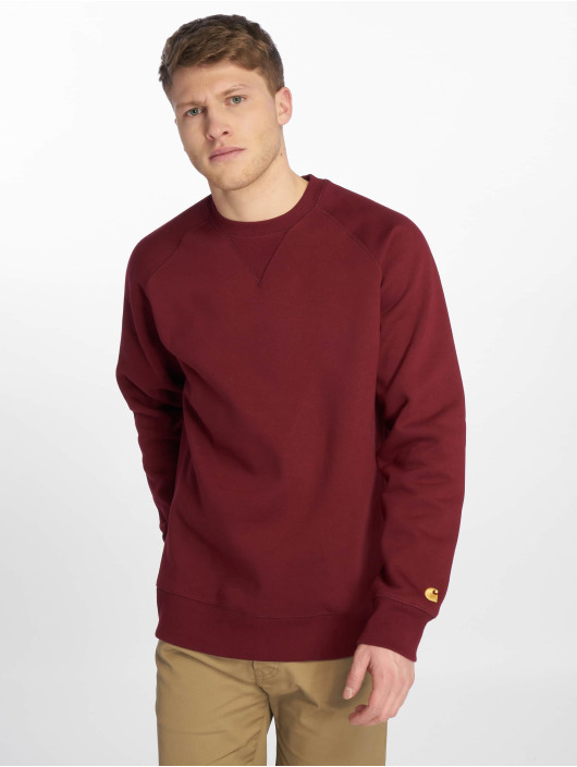 Carhartt WIP Pullover Chase rot