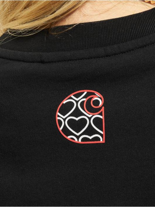 Carhartt WIP Pullover Hearts schwarz