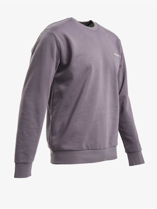 Carhartt WIP Pullover Script Embroidery violet