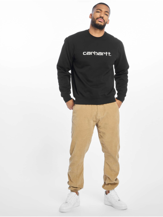 Carhartt WIP Pulóvre Label èierna