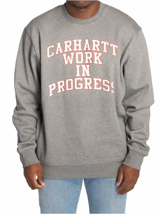 Carhartt WIP Pulóvre Wip Division šedá