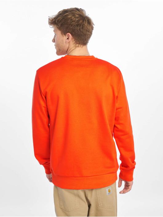 Carhartt WIP Pulóvre Script Embroidery oranžová