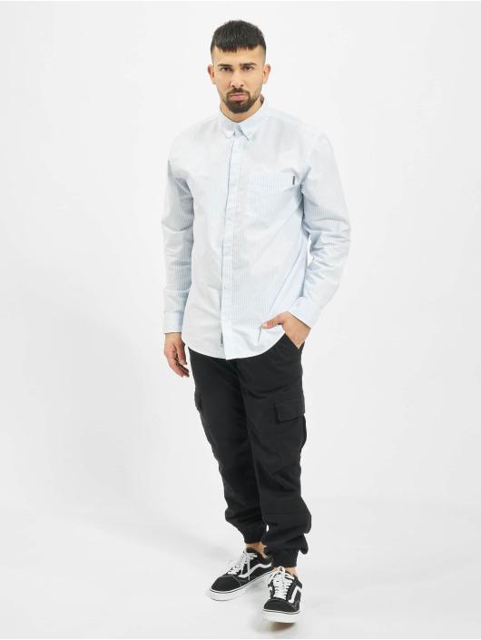 Carhartt WIP Skjorter Karev blå