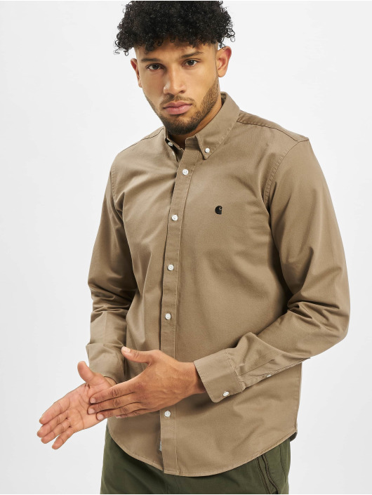 Carhartt WIP Skjorter Madison brun
