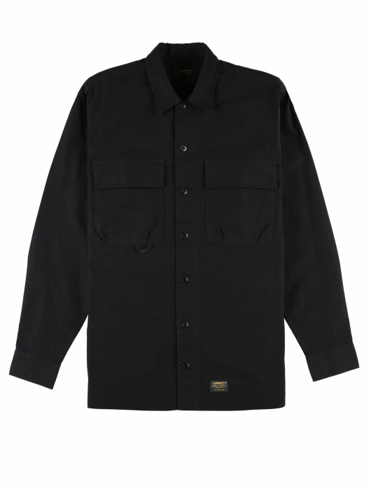 Carhartt WIP Skjorter Laxford svart