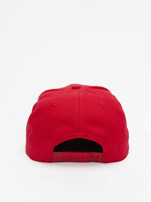 Carhartt WIP Snapback Caps Logo czerwony