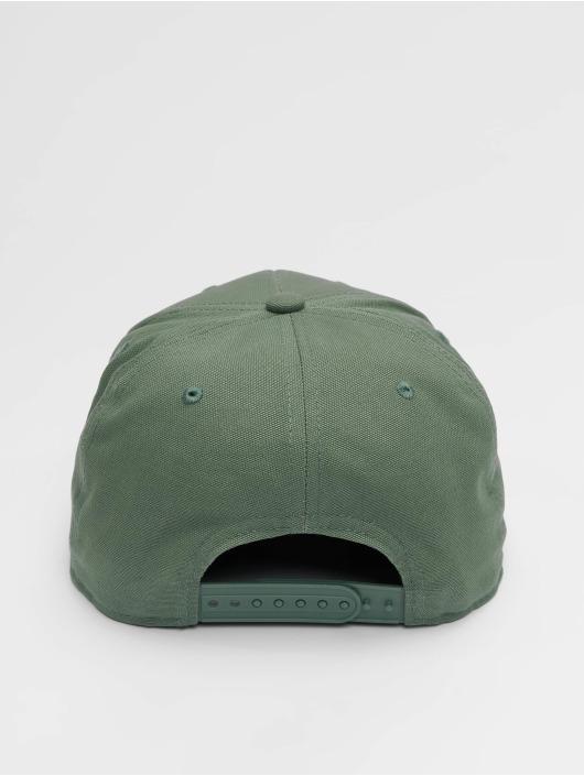 Carhartt WIP Snapback Caps Logo Canvas zielony