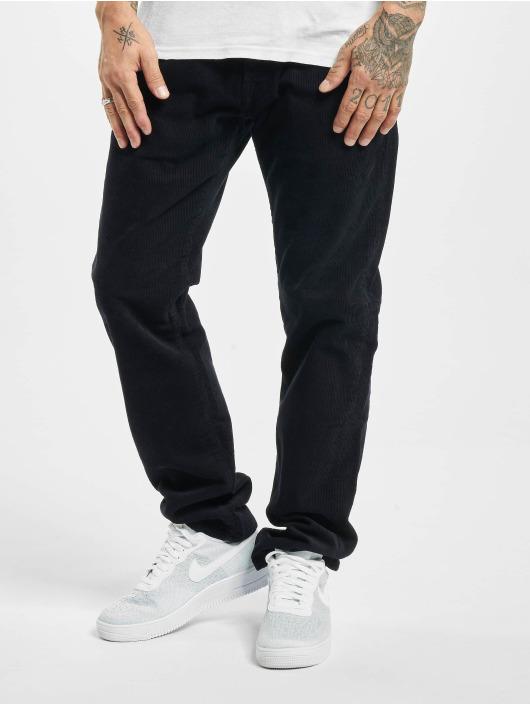 Carhartt WIP Spodnie sztruksowe Klondike niebieski