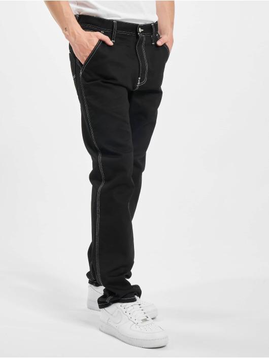 Carhartt WIP Spodnie wizytowe Chalk czarny