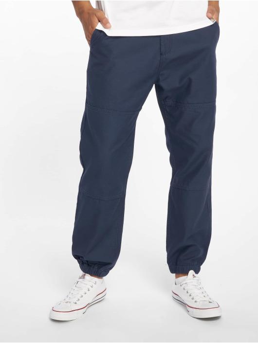 Carhartt WIP Spodnie wizytowe Marshall niebieski