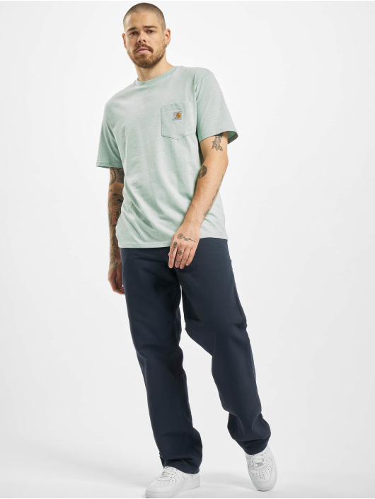 Carhartt WIP Stoffbukser Turner Single Knee blå