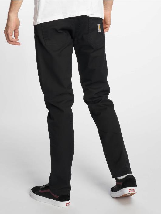Carhartt WIP Straight Fit Jeans Klondike čern