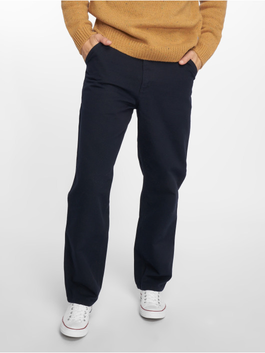 Carhartt WIP Straight Fit Jeans Single Knee blau