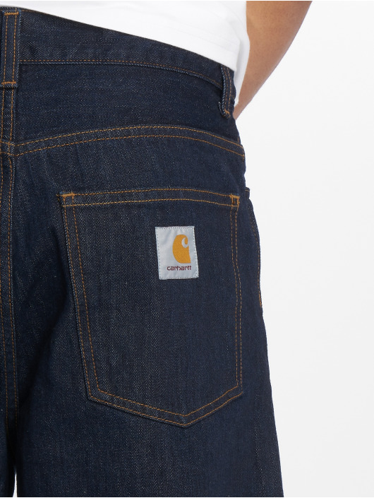 Carhartt WIP Straight Fit Jeans Smith blau