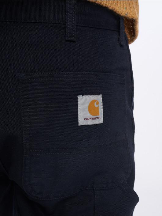 Carhartt WIP Straight Fit Jeans Single Knee blue