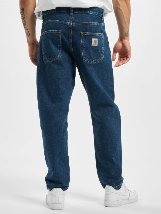 Carhartt WIP Straight Fit Jeans Newel blue