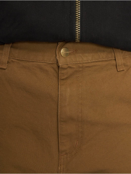 Carhartt WIP Straight Fit Jeans Single Knee brown