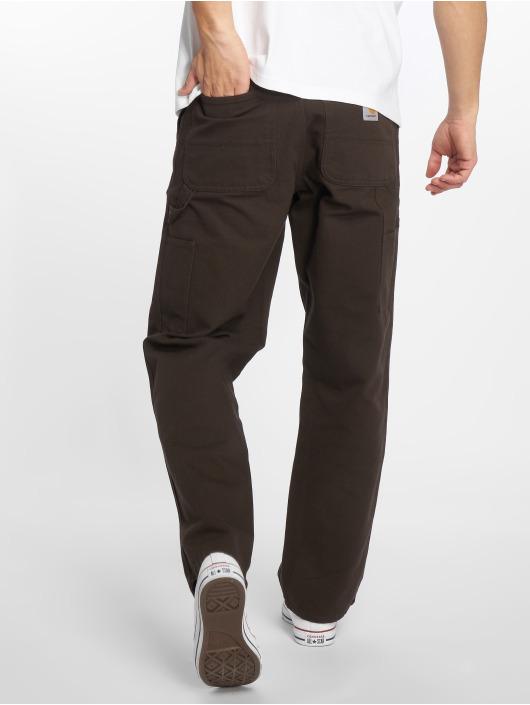 Carhartt WIP Straight Fit Jeans Single Knee brown