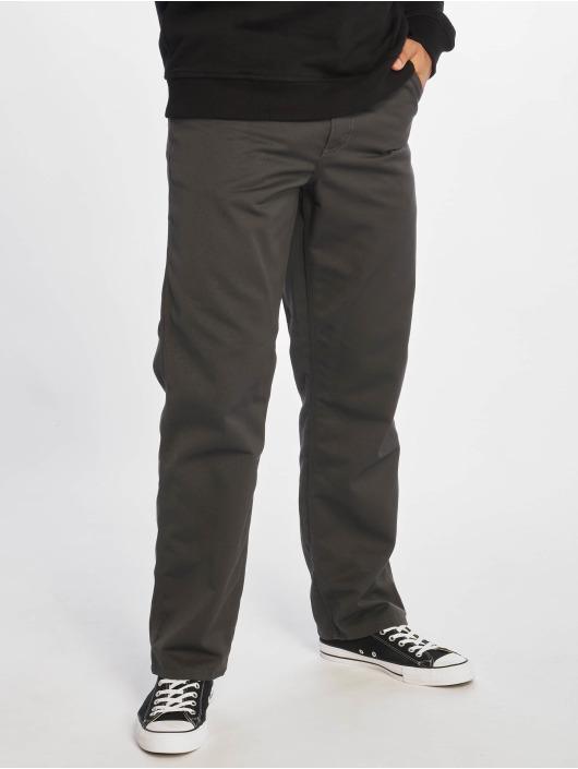 Carhartt WIP Straight Fit Jeans Simple grau